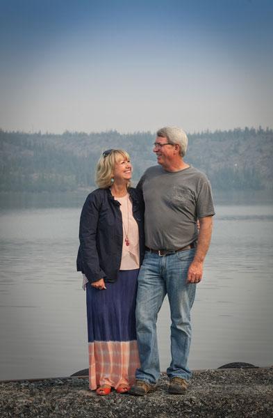 Teri and Peter Arychuk of Air Tindi fame.