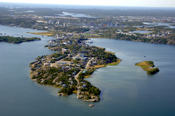 In Yellowknife, everything is within walking (or paddling) distance. Photo Jiri Hermann/Up Here