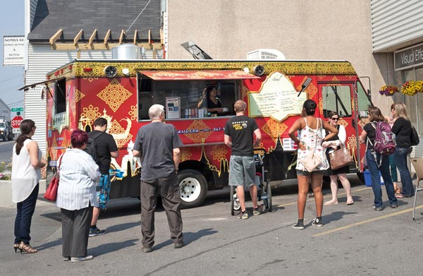 One of a Thai's probably got the best looking food truck North of 60--and the food ain't half bad either. Photo Hannah Eden