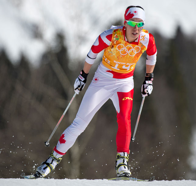 Yukon cross-country skier Emily Nishikawa. Photo courtesy International Olympic Committee