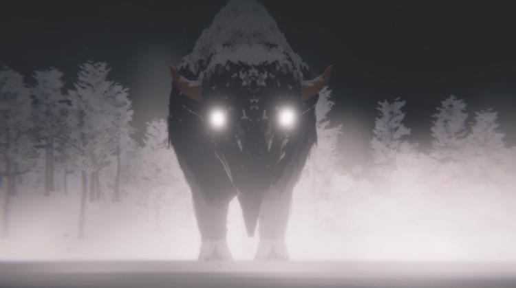 Casey Koyczan's VR bison. Courtesy of the artist.