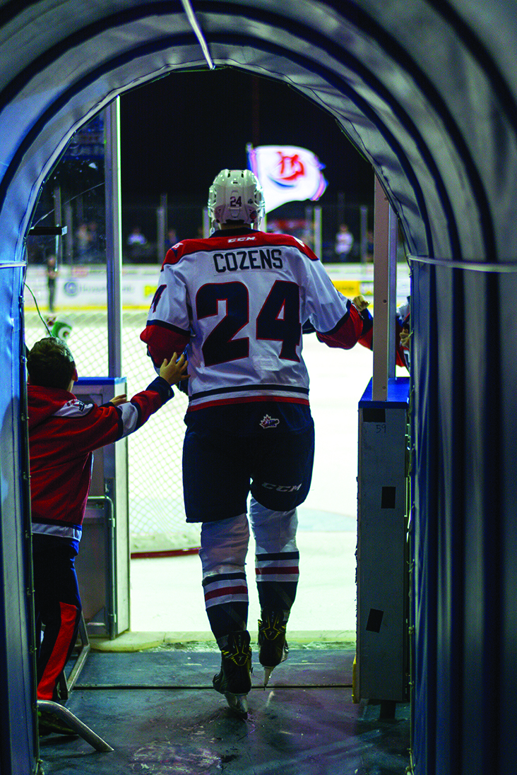 Photo courtesy Erica Perreaux/Lethbridge Hurricanes