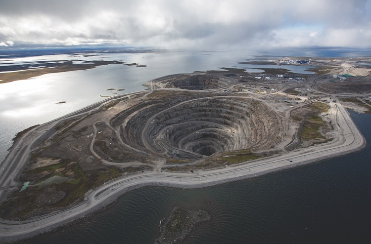 COURTESY DIAVIK DIAMOND MINES