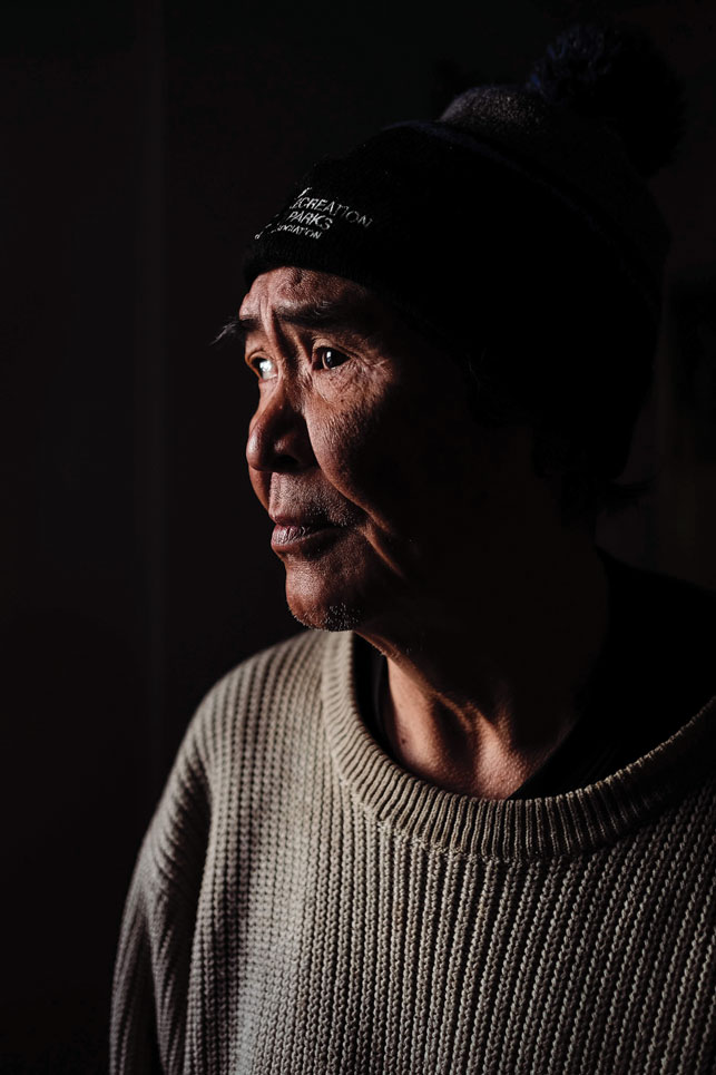 "Richard ""Stick"" Edwards is a resident of the Inuvik Emergency Warming Centre. For the town's homeless, the centre can be the difference between a warm bed and a winter night on the streets. Or in jail."