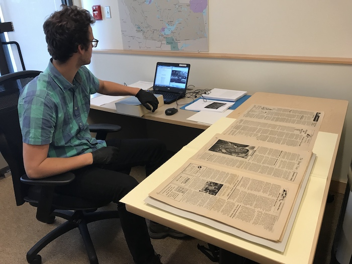 Archivists are working to digitize and preserve thousands of pages of the Native Press; a newspaper for the Indigenous people of the Northwest Territories that began publication in 1971.