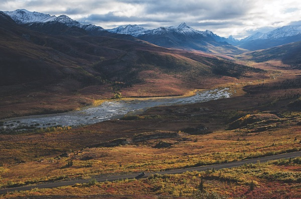 "The Dempster Highway was part of Prime Minister John Diefenbaker's ""Roads to Resources"" infrastructure program in the early 1960s. PHOTO BY PETER MATHER"