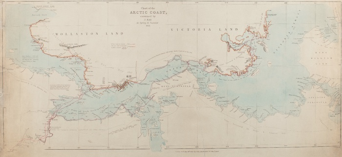 MAP BY JOHN RAE
