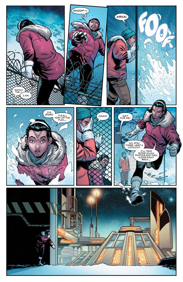 Courtesy Jim Zub/ Line Art Sean Izaakse, colours Marco Menyz, copyright Marvel Comics
