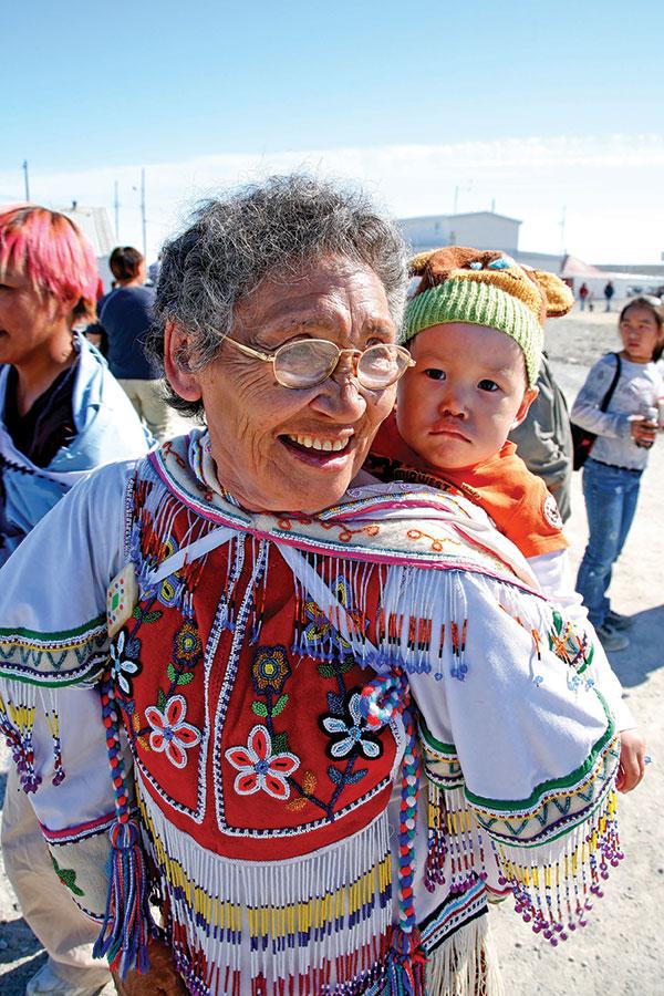 Nunavut Day, Igloolik. CREDIT STEPHEN AMBRUZS