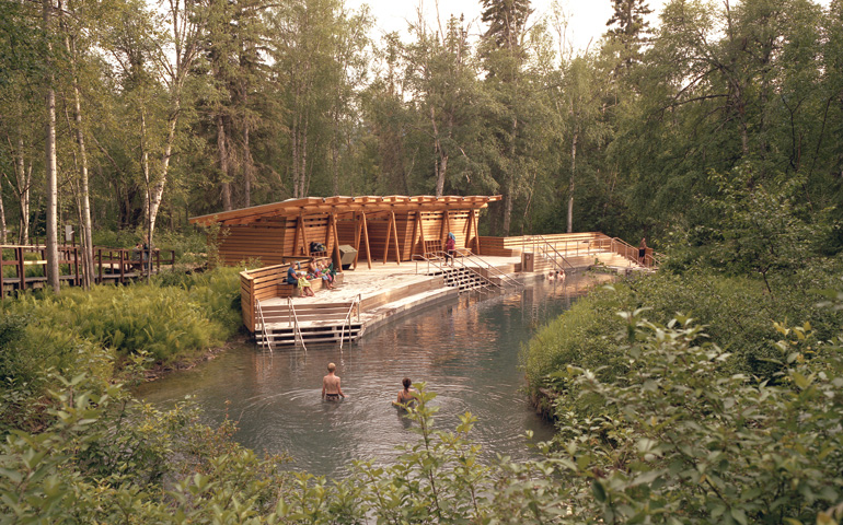 The Liard River Hotsprings were once known as Tropical Valley. Photo by Ottilie Short