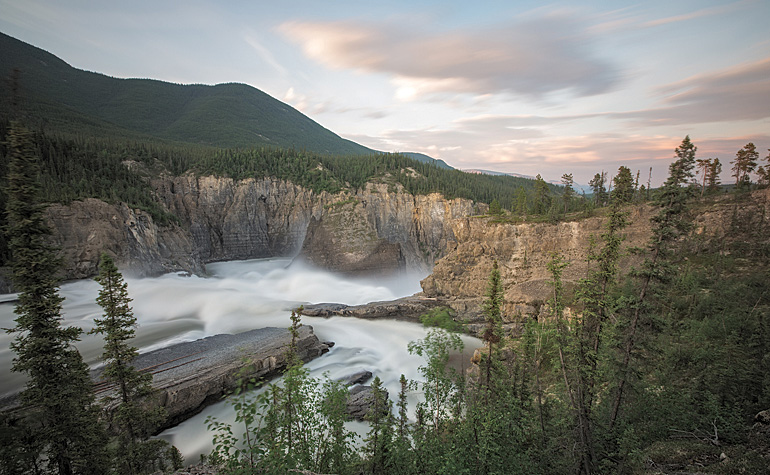 Nahanni's reigning, monarch Nailicho, also known as Virginia Falls. Photo by Adam Hill