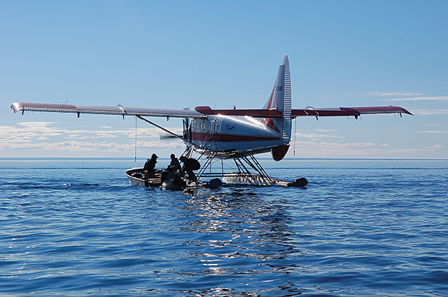 Access to some prime fishing locations throughout the NWT is by floatplane only.