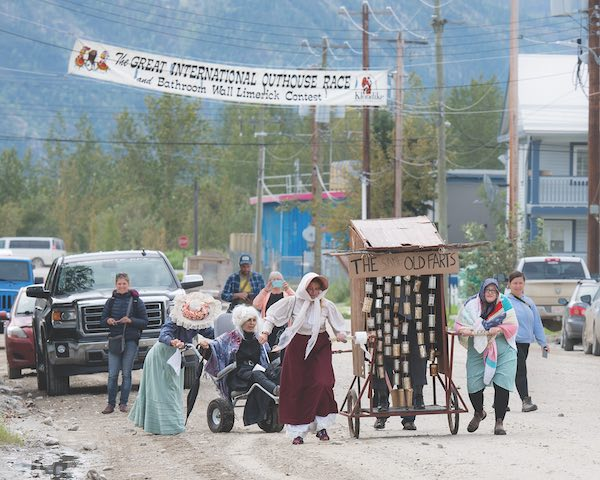 Battle the Same Old Farts at Dawson's annual Outhouse Race. COURTESY Klondike Visitors Association