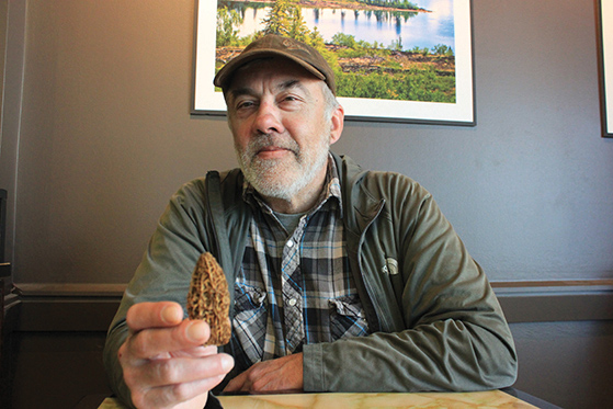 Joachim Obst is the NWT's mushroom expert, making him the most popular guy in the territory. Photo: Linda Gerrand