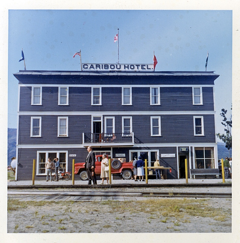 The beating heart of Carcross, back in its heyday, circa 1964.