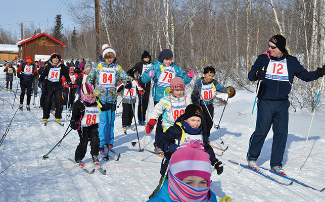 Now a loppet, organizers hope this year's event will inspire new skiers. Photo courtesy of Jen Lam