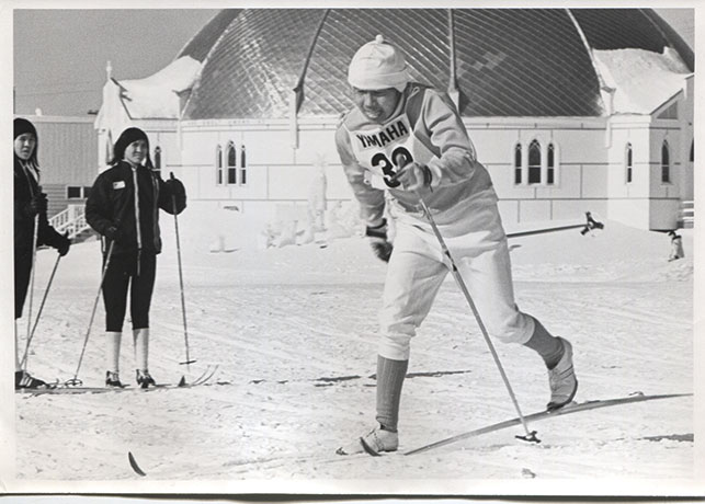 The Top of the World Ski Races saw NWT skiers take on the world. Photo courtesy Inuvik Ski Club