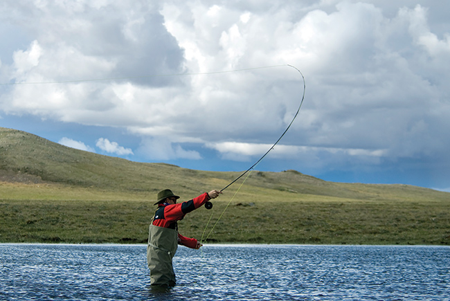 Rivers on the tundra are home to a great many fish other than just char.