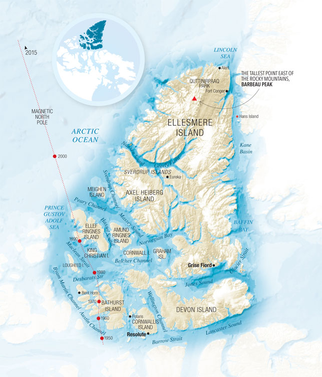 Islands Of Canada Map.Meet Your Arctic Archipelago The North Uphere Magazine