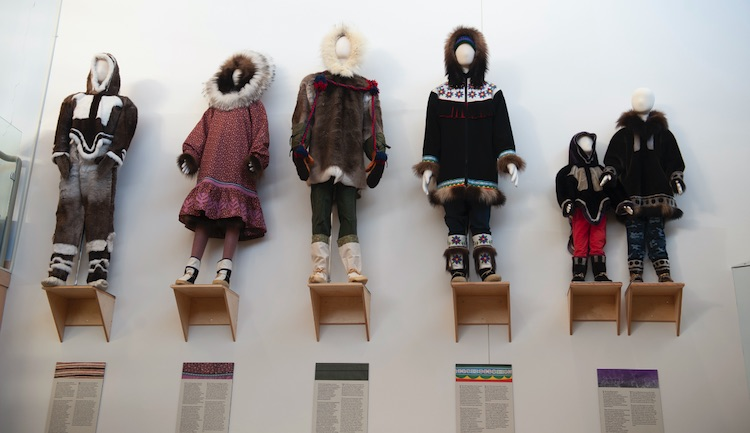 "THE ""PATTERNS OF CHANGE"" EXHIBIT TRACKS CHANGES IN WINTER GEAR OVER 150 YEARS. JEREMY WARREN/UP HERE"
