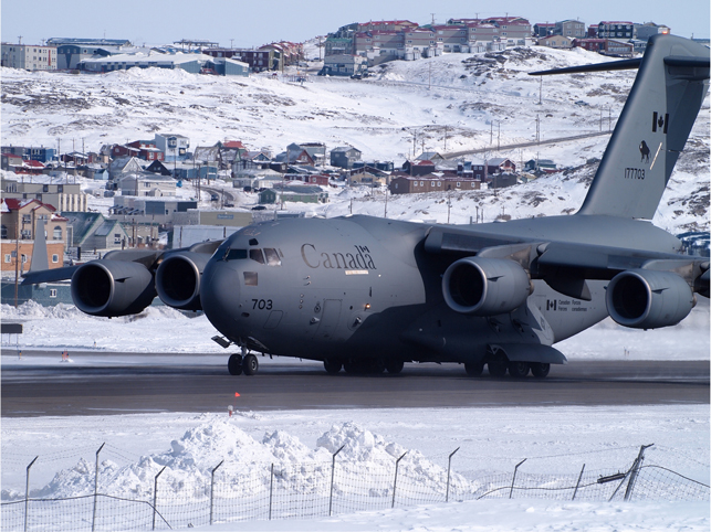 The 128-tonne CC-177 Globemaster III. Photo by Fiona Hunt