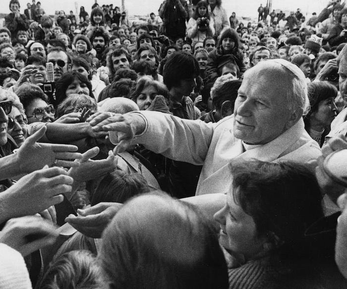 Pope John Paul II flew into Fort Simpson in 1984—or, he tried to, anyway. His holiness' plane circled several times but couldn't land due to fog. Instead, a surprise papal visit took place in Yellowknife.