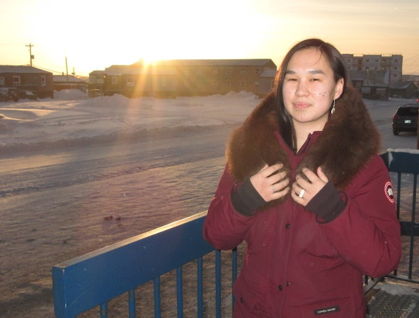 Qaqqaq, in Iqaluit. CREDIT UP HERE
