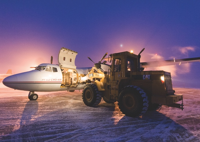 Freight contracts are core business for many Northern airlines. Photo by Jason Pineau