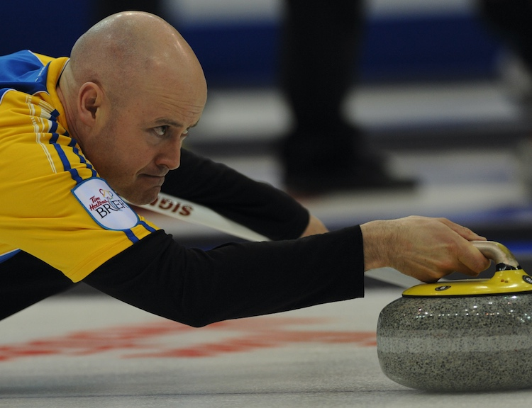 Kevin Koe won his first Brier in 2010. The next month, he'd lead Team Canada to victory at the world championships. COURTESY CURLING CANADA/MICHAEL BURNS