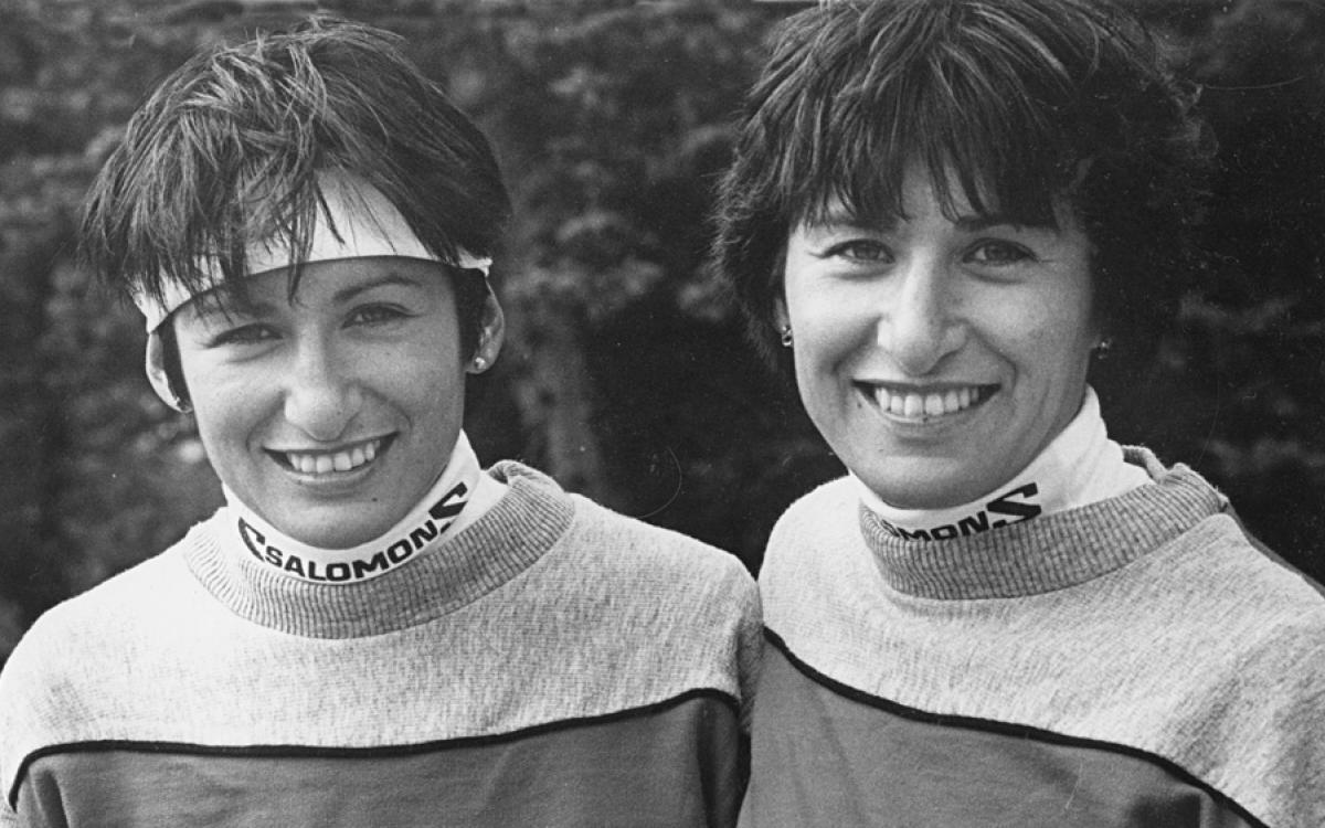 The Firth sisters at the end of their career. Photo by Tessa MacIntosh