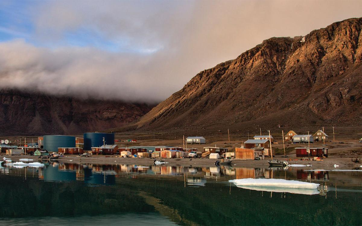 Grise Fiord, Nunavut. Photo by Ronald Campbell