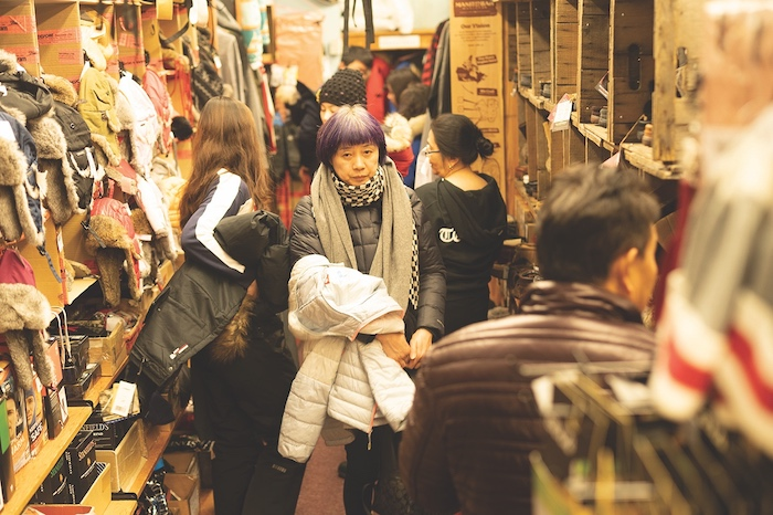 Aurora tourists shop at Weaver & Devore, a historic outfitter in Yellowknife. Tourist traffic now accounts for roughly one-third of business, the company says.